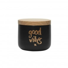 Good Vibes Black Gold Canister