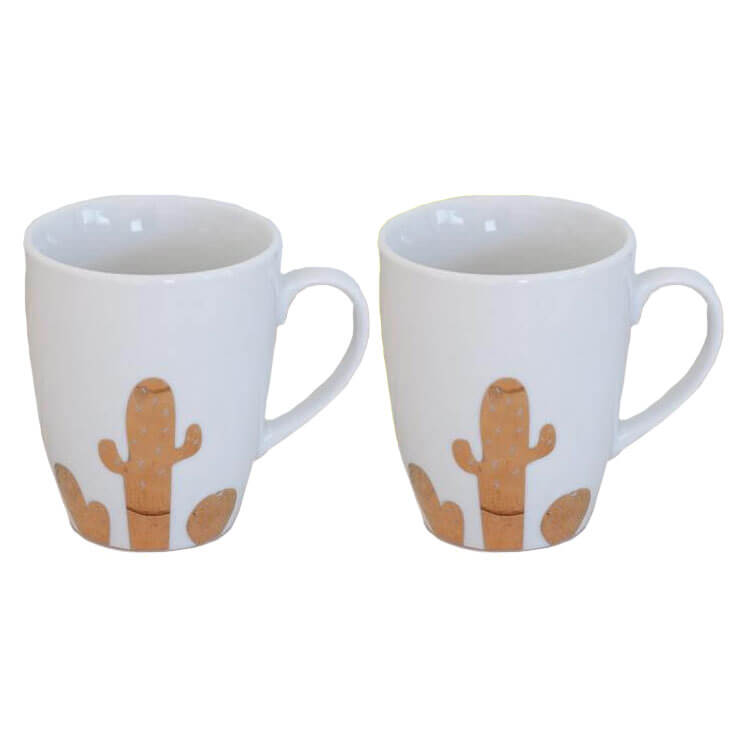 Cacti Mug Set Of 2
