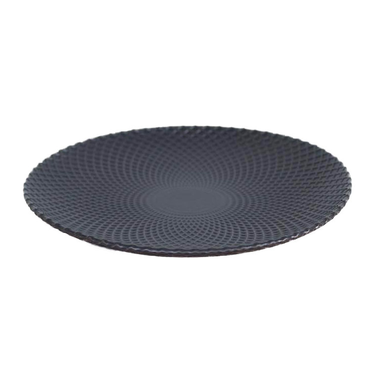Lattice Black Platter
