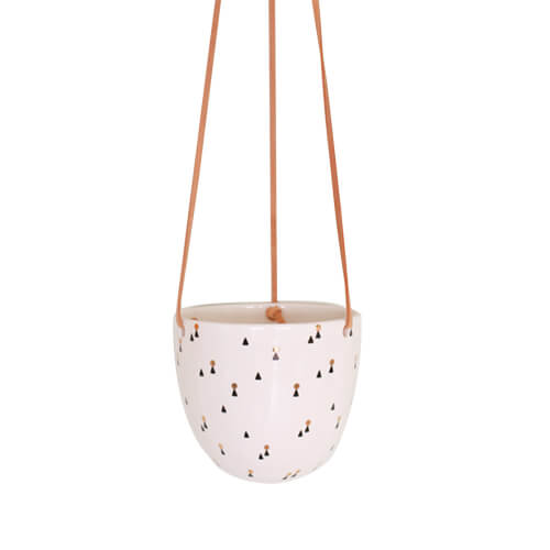 Lights Pattern Hanging Planter