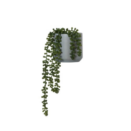 String Of Pearls Small Faux Plant
