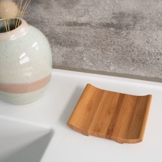 Bamboo Arched Soap Dish
