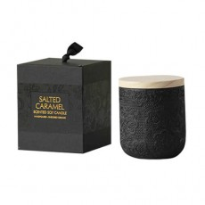 Black Lace Salted Caramel Soy Candle