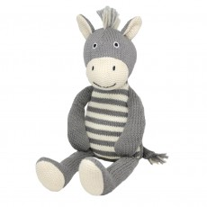 Bowie The Zebra Soft Toy
