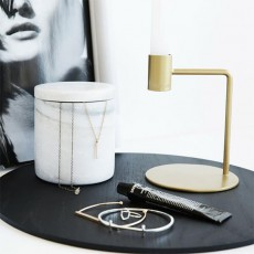 Brass Right Angle Candle Holder