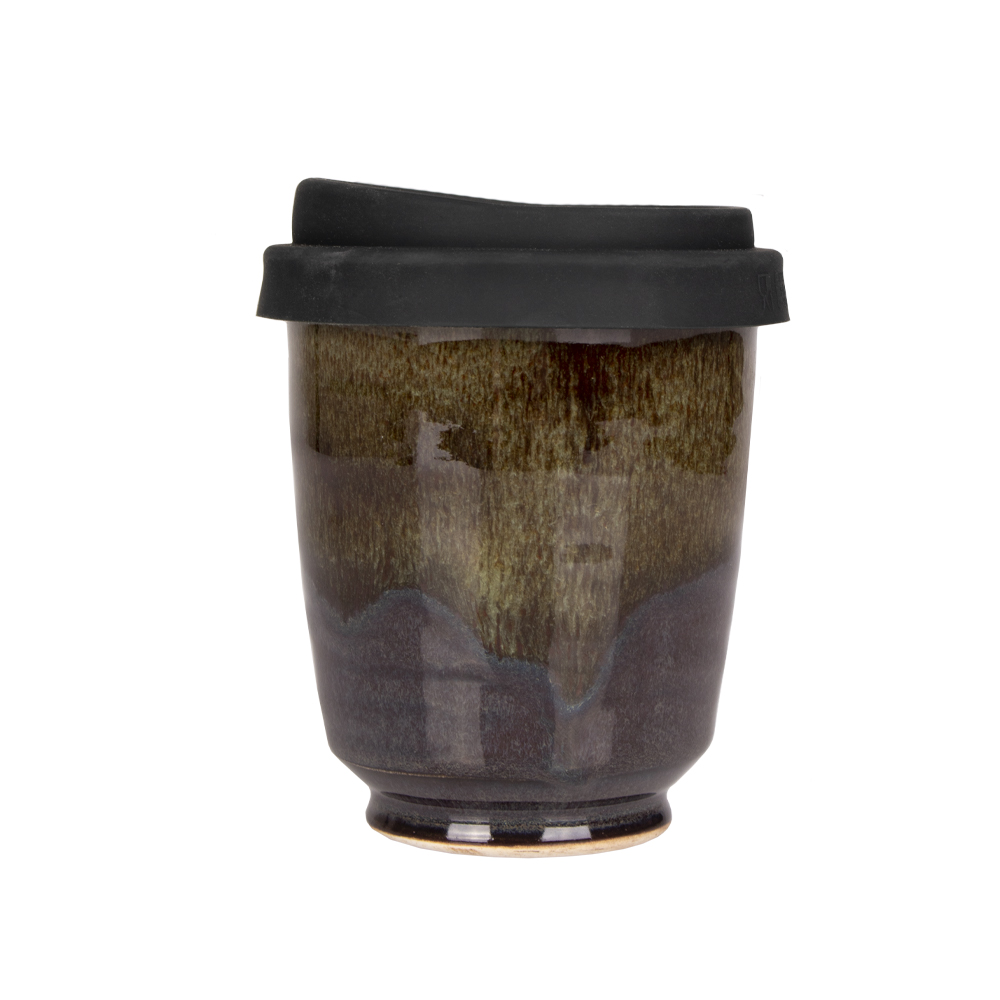 Deep Sea Green 12oz Takeaway Cup