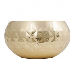 Diamond Brass Bowl