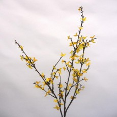Forsythia Yellow Faux Plant