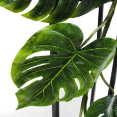 Grand Monsteria Garland Faux Plant