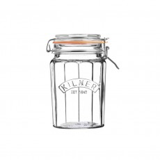 Kilner Faceted Clip Top 095ltr Jar