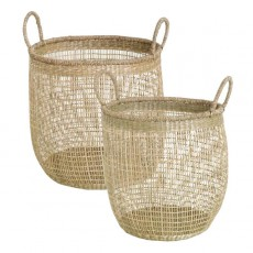 Natural Seagrass Net Basket