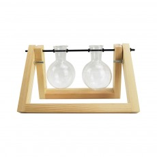 Natural Wood Glass Double Propagation