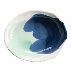 Navy Mint Large Bowl