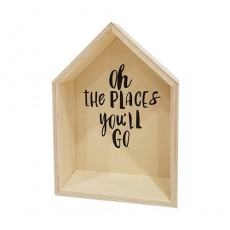 Oh The Places Youll Go Wooden House Box