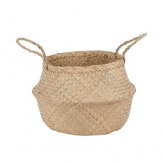 Seagrass Natural Small Belly Basket