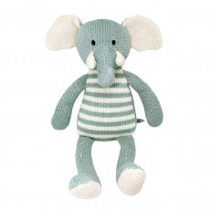 Stripey Charlie The Elephant Soft Toy