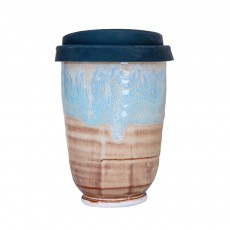 Washout Blue 16oz Takeaway Cup