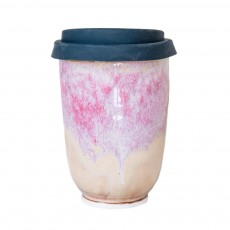 Washout Pink 16oz Takeaway Cup