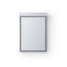 X O Grey A5 Notepad